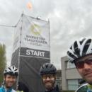 Daniel ,Jens und Florian am Start zur Ronde